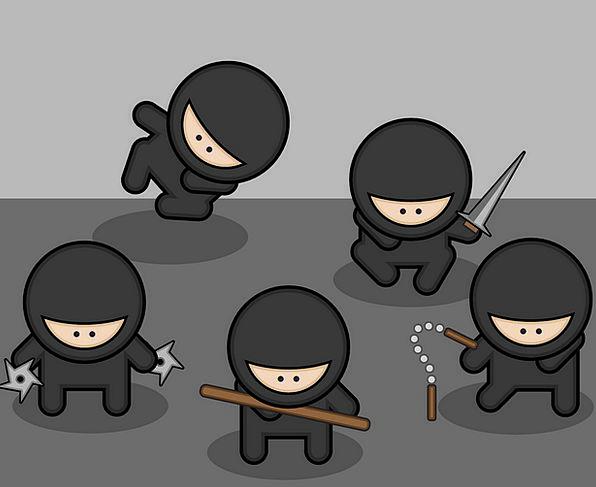 Ninjas Battalions Fighter Combatant Fighters Actio