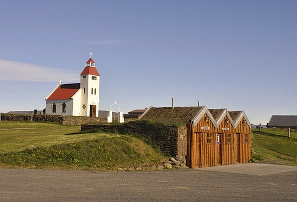 Iceland Community Church Ecclesiastical Village Pe