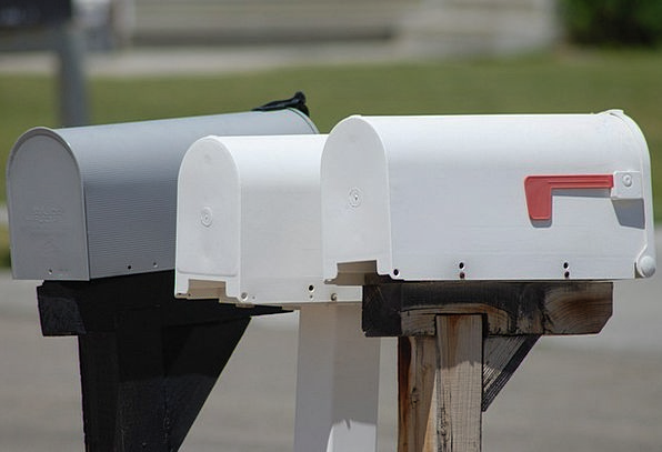 Mailbox Letterbox Communication Postbox Letter Pos