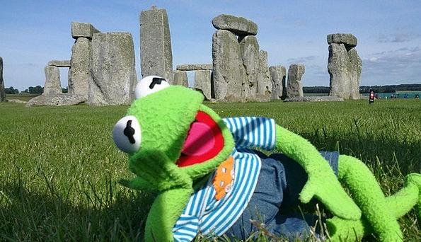 Stonehenge Buildings Architecture Frog Kermit Buri