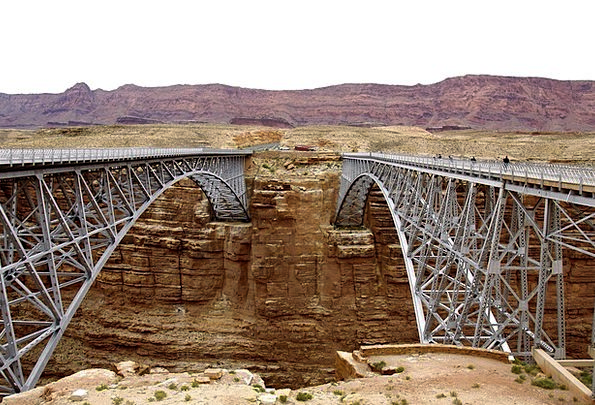 Bridges Bonds Arch Playful Marble Canyon Engineeri