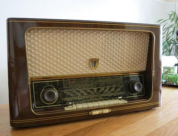 Radio Wireless Headset Radio Device Receiver Old A