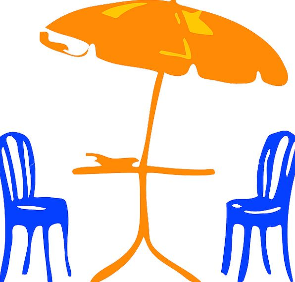 Umbrella Canopy Vacation Travel Furniture Equipmen