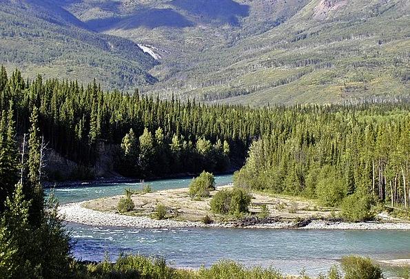 Yukon Territory Landscapes Nature Landscape Scener