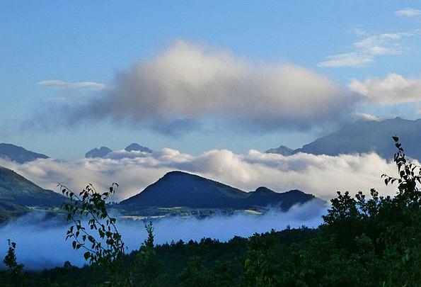 Mist Haze Landscapes Nature Landscape Scenery Sea
