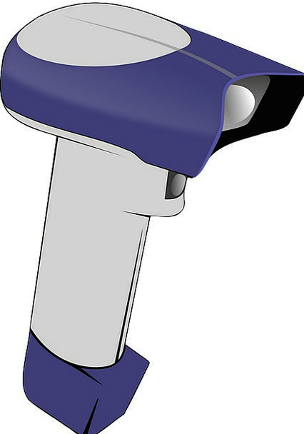 Scanner Barcode Handheld Scanning Skimming Laser D