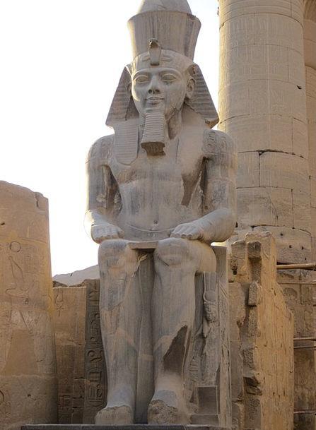 Luxor Pharaonic Egypt Nile Temple Statue God Shrin