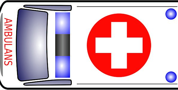 Ambulance Traffic Spare Transportation Vehicle Car