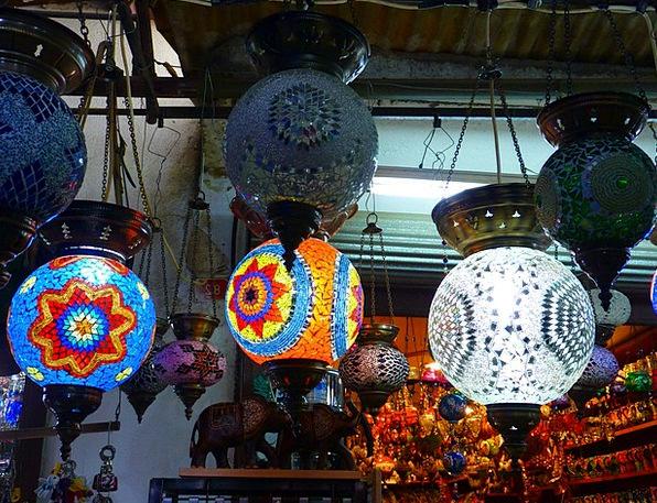 Lamps Uplighters Lights Illuminations Oriental Lig