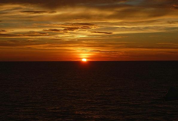 Sunset Sundown Vacation Prospect Travel Ocean Mari