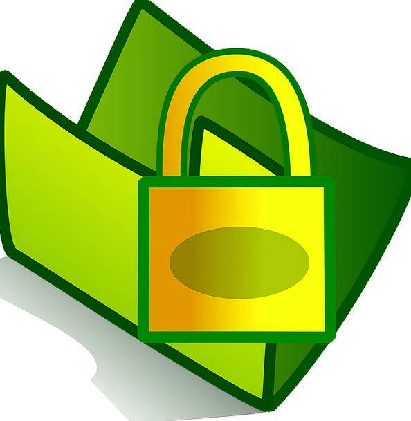 Lock Padlock Safety Folder Binder Security Locked