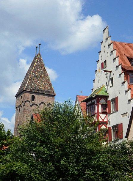 City Urban Buildings Architecture Ulm Cityscape To