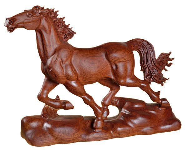 Horse Mount Gifts Handouts Wood Carving East Wood