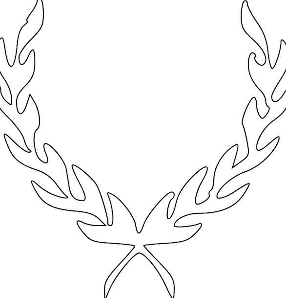 Laurels Successes Wreath Garland Laurel Wreath Hon