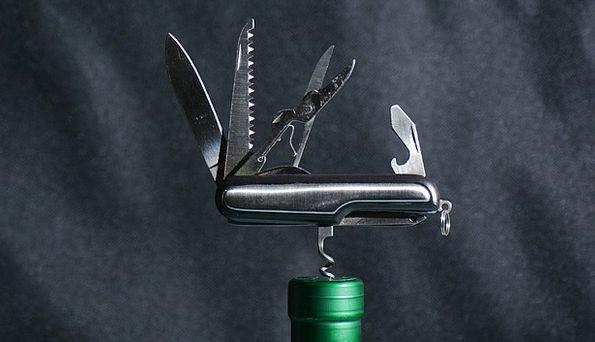 Tool Instrument Pocketknife Multifunction Army Kni