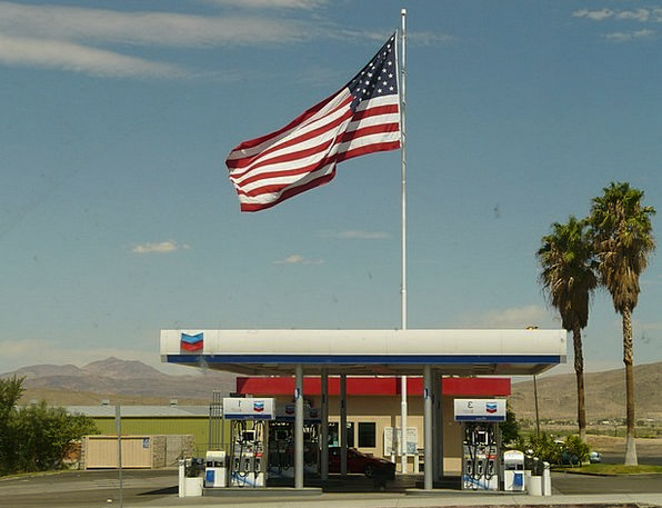 Petrol Stations Finance Business Refuel Refill Usa