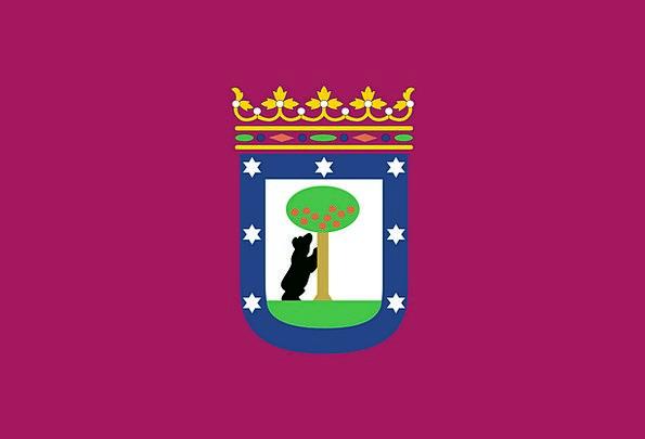 City Of Madrid Standard Madrid Flag Capital Wealth