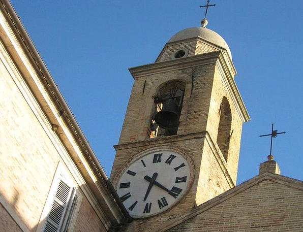 Church Tower Monuments Places Medievel Italy Old B