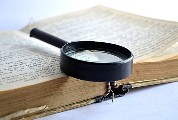Magnifier Loupe Magnifying Glass Book Volume Learn