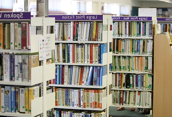 Library Public library Records Shelves Defers Book