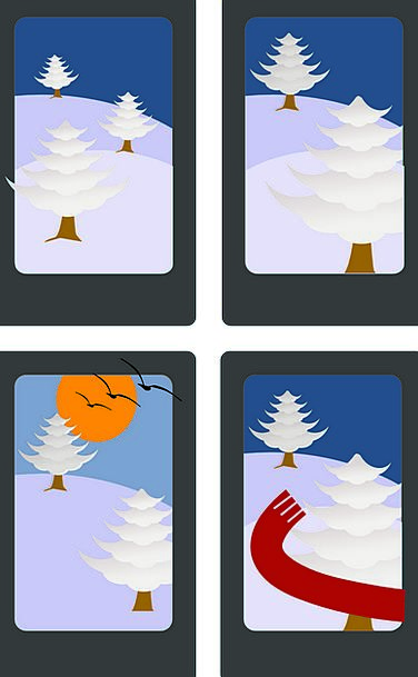 Card Postcard Willing Ice Frost Game Free Vector G