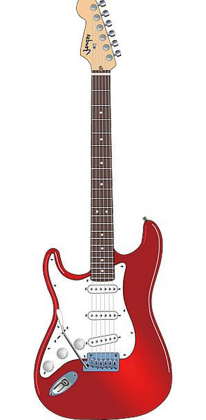 Guitar Electronic String Cord Electric Fender Fire