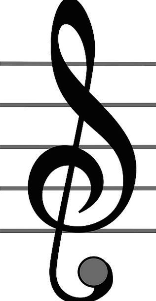 Note Letter Melody Musical Melodic Music Symbol Si