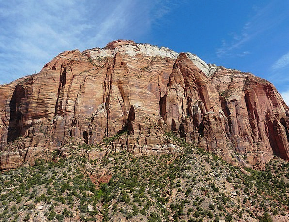 Zion National Park Landscapes Nature United States