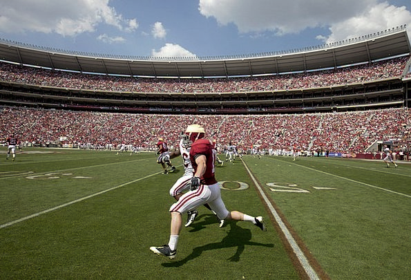 Football Receiver Headset American Football Grass