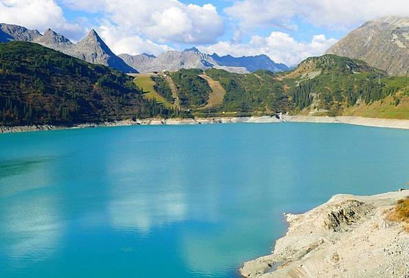 Reservoir Tank Landscapes Nature Galtür Kops Lake