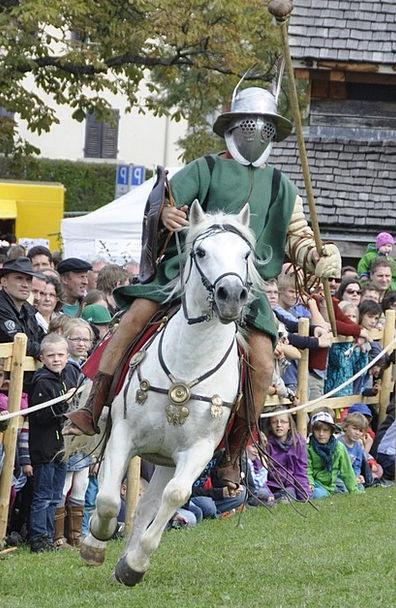 Romans Fighter Combatant Reiter Horse Mount Mask C