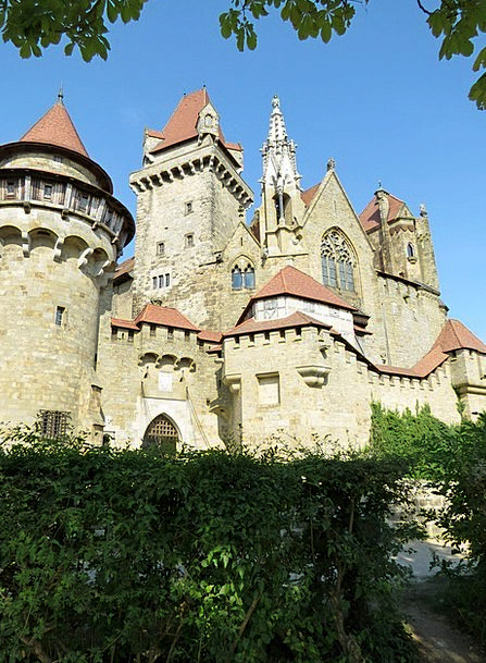 The Medieval Castle Buildings Diurnal Architecture