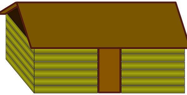 House Household Buildings Hut Architecture Log Rec