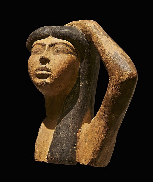 Isis Fashion Broken Beauty Egyptian Bust Ancient E