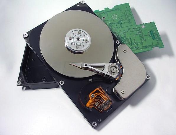 Hard Drive Communication Metallic Computer Hardwar
