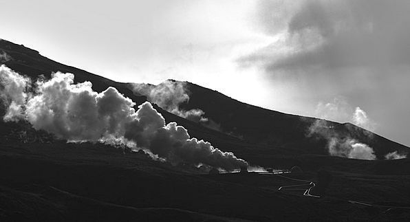Steam Vapor Landscapes Isle Nature Nature Countrys