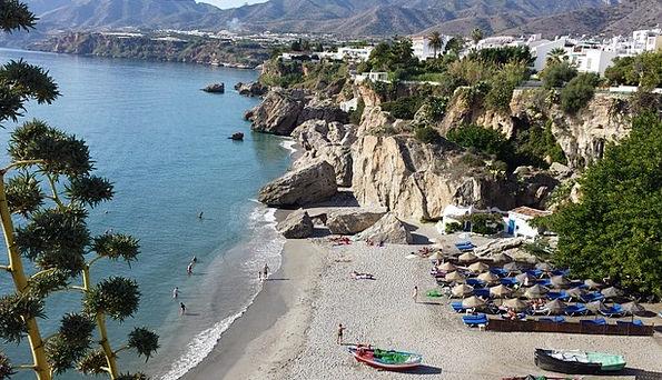 Nerja Andalusia Spain Sea View