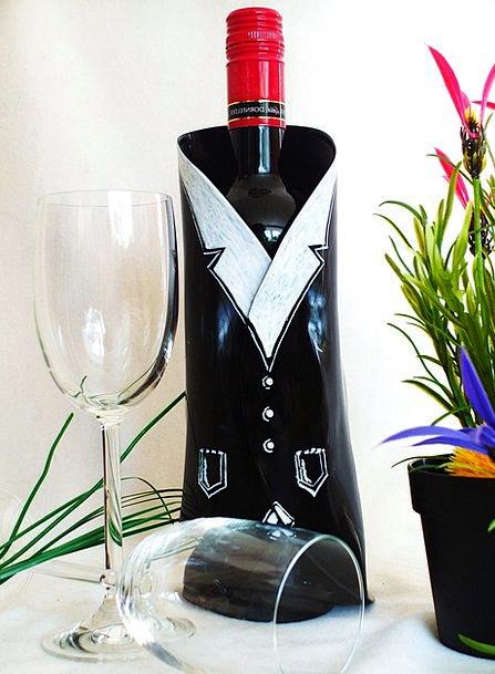 Wine Mauve Wine Glasses Bottle Holder Give A Wine