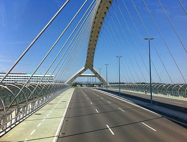 Bridge Bond Spain Saragossa