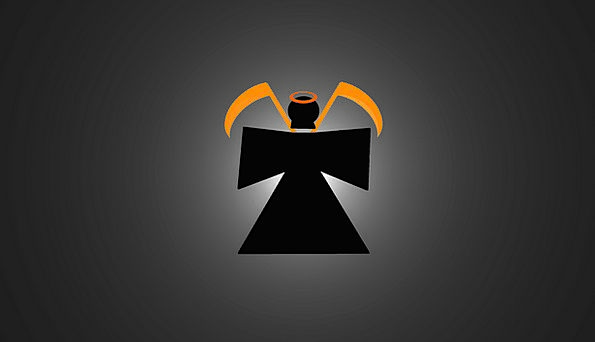 Grim Reaper Demise Orange Carroty Death Background