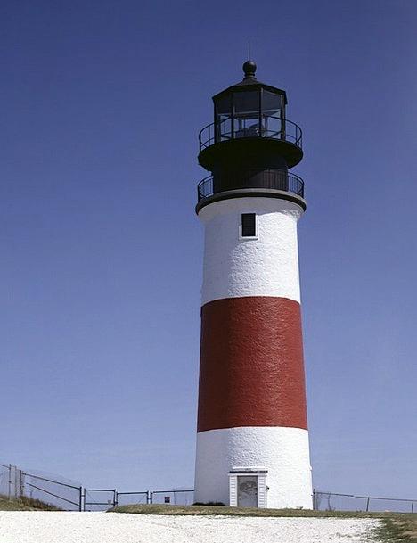 Lighthouse Vacation Travel Coast Shore Beach Ocean