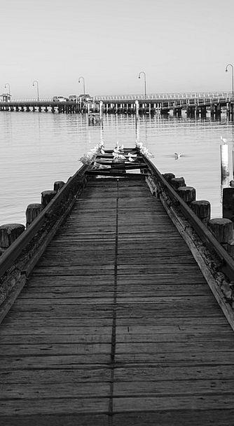 Pier Dock Slope Yacht Tracks Ramp Sail Sea Sailing