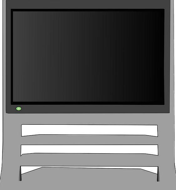Television Tv Plasma Hdtv Free Vector Graphics Dig