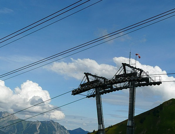 Chairlift Pole Cable Car Mast Lift Boost Gondola R