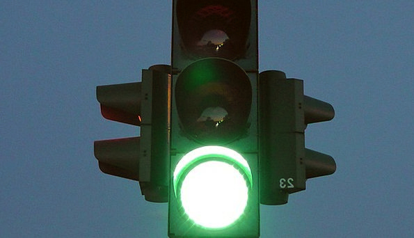 Traffic Lights Traffic Lime Transportation Road St