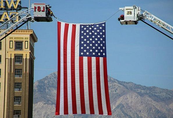 Flag Standard United States American Banner Americ