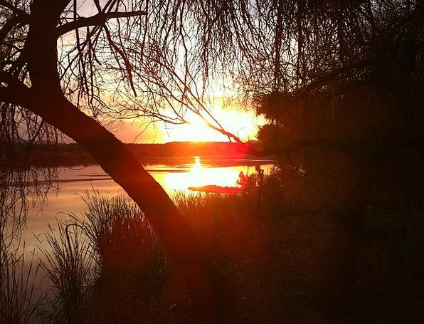 Sunset Sundown Vacation Carroty Travel Glows Radia
