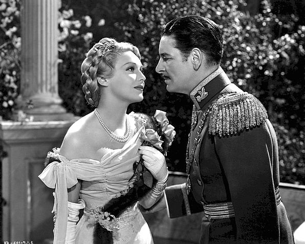 Ronald Coleman English Madeleine Carroll Cinema Ac