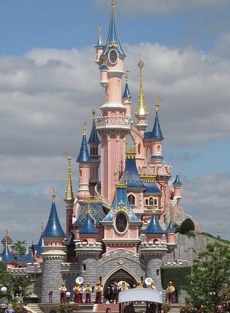 Eurodisney Fortress Fairy Tale Castle