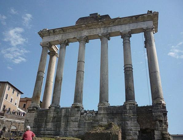 Roman Forum Pillars Rome Columns
